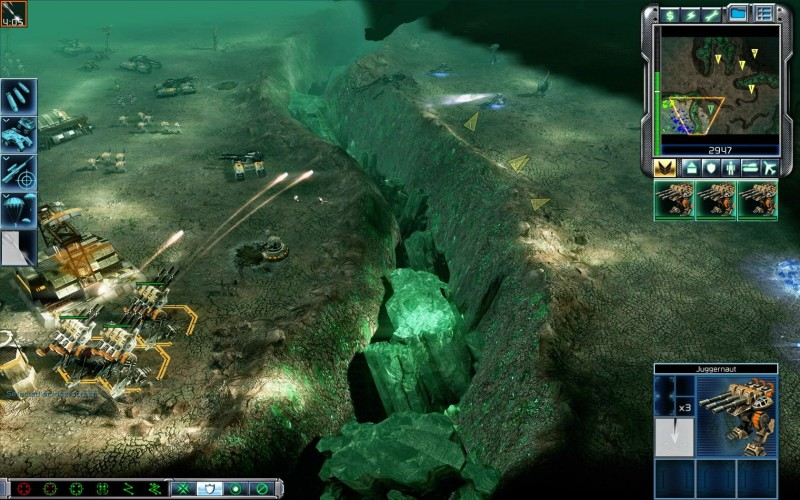 Скриншот C&C3: Tiberium Wars